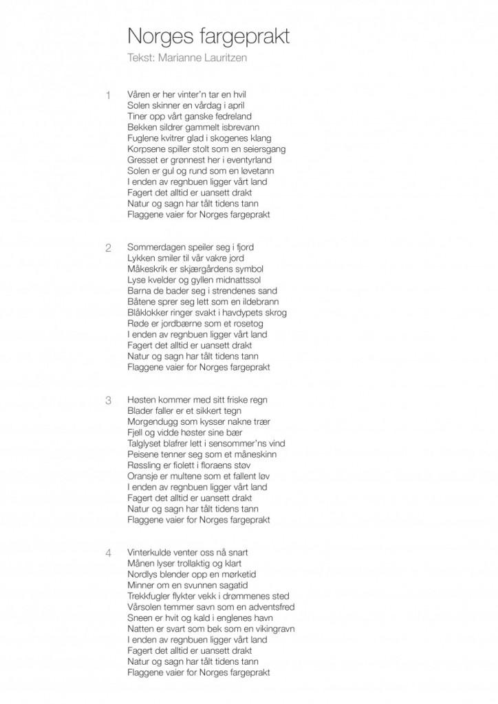 Stortinget | Jubileumssang