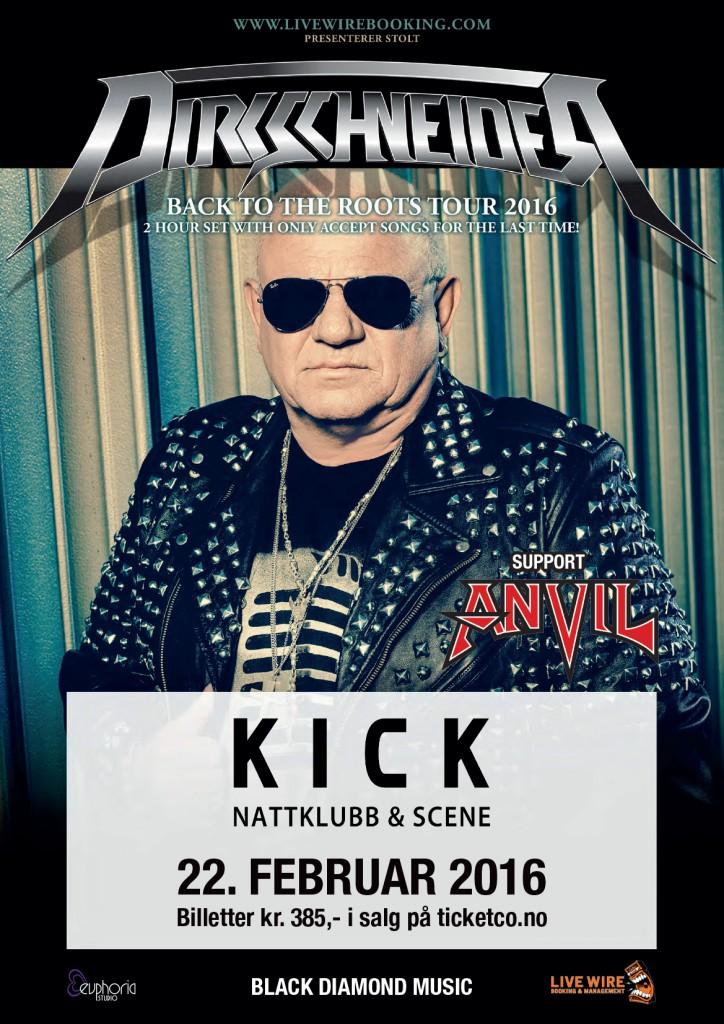 Plakat A3 Dirkschneider Kick digitalt