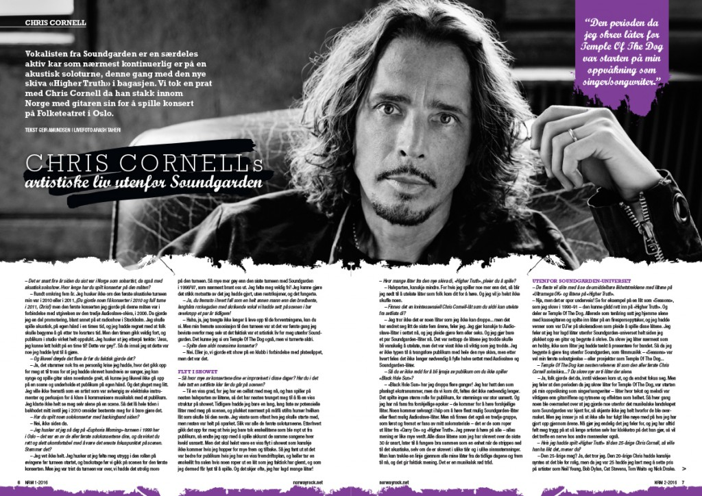 Chris Cornell | NRM #2-2016-1