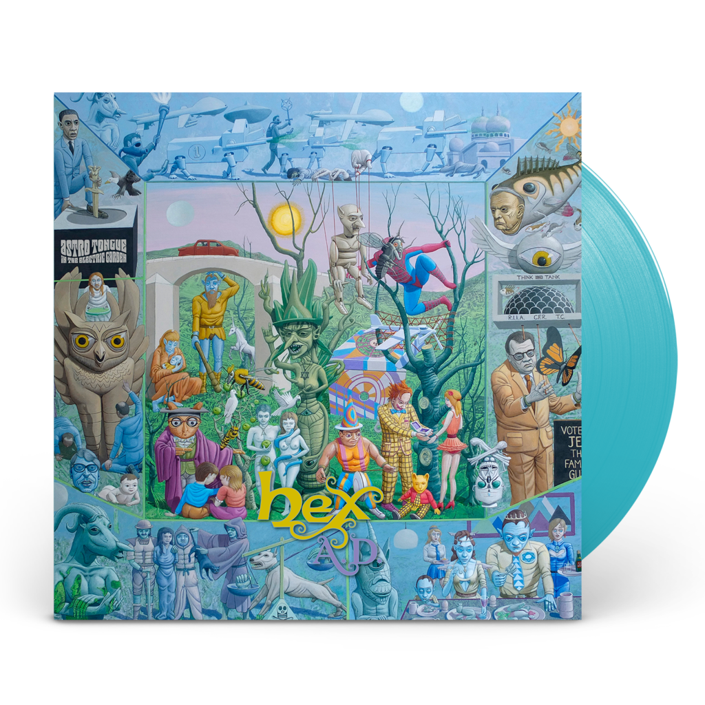 Hex A.D. | Platecover «Astro Tongue in the Electric Garden»