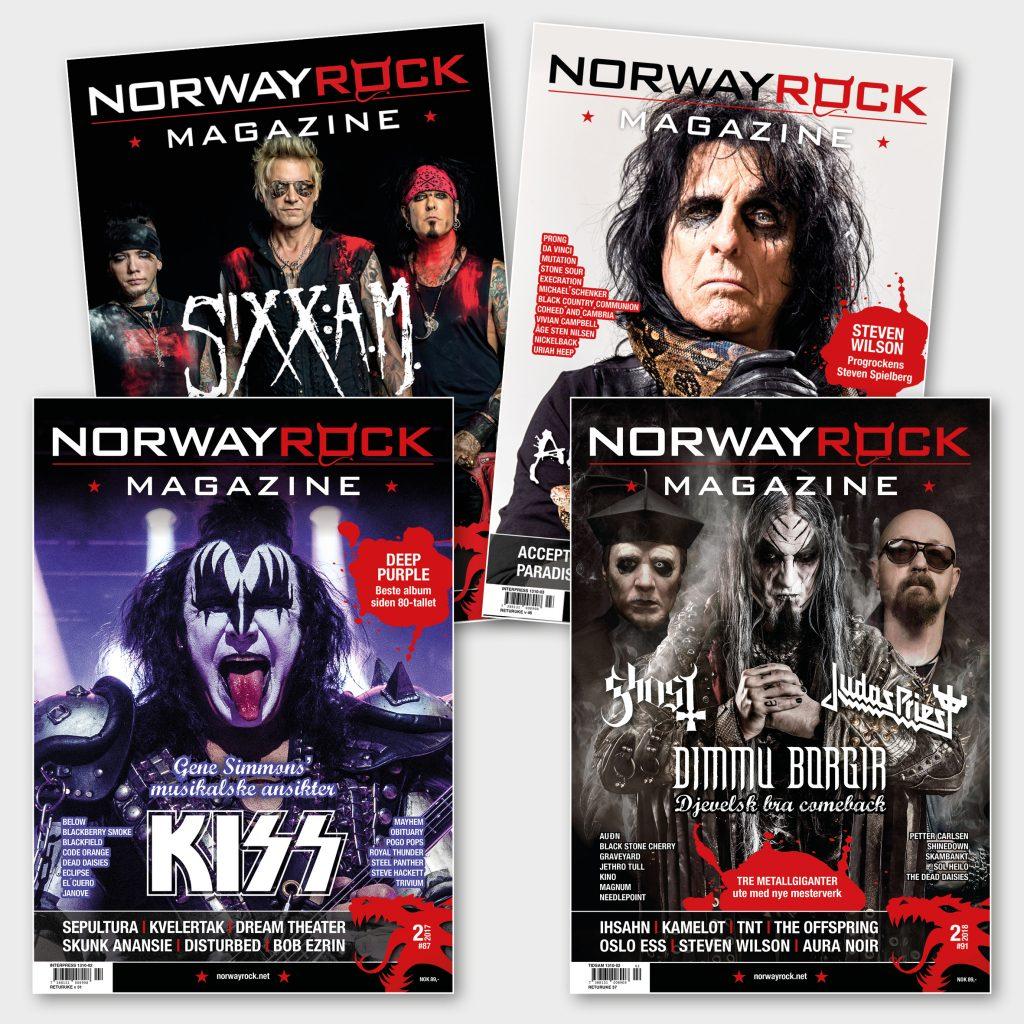 Norway Rock Magazine | Magasindesign
